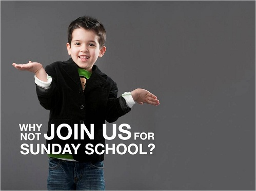 Sunday School Opportunities